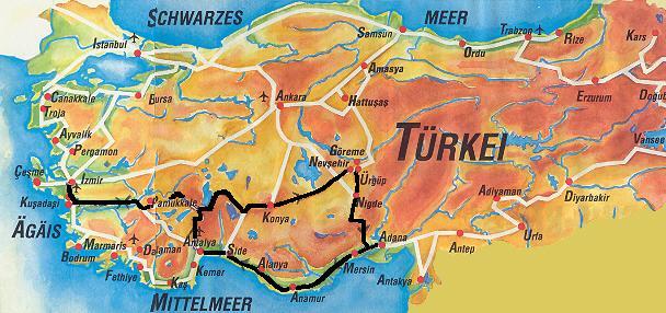 anatolien karte Türkei Anatolien Karte | hanzeontwerpfabriek