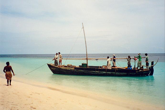 мальдивские рыбаки