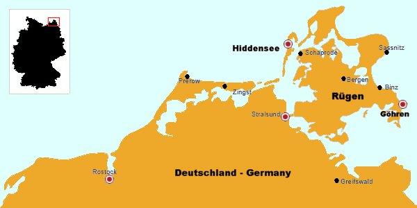 halbinseln von deutschland